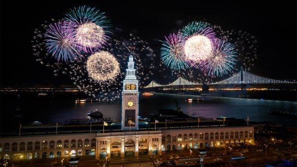 New years celebration san francisco